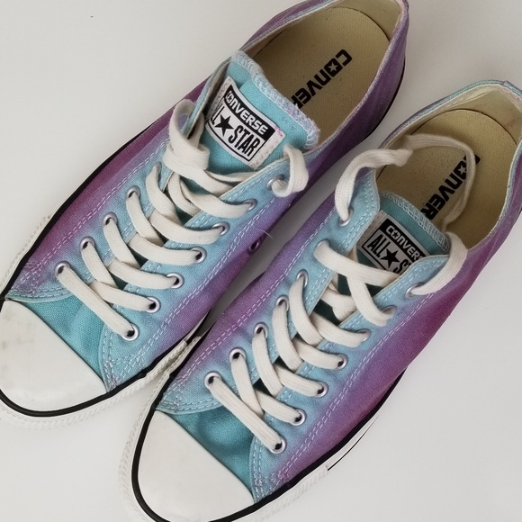 98088b1dd02c Converse Shoes - Converse All Star Chuck Taylor Ombre Blue Purple